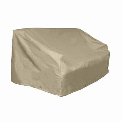 Polyester Patio Loveseat and Bench Cover with PVC Coating