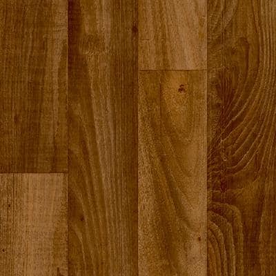 Take Home Sample - Smokehouse Oak Honey Plank Vinyl Sheet - 6 in. x 9 in.