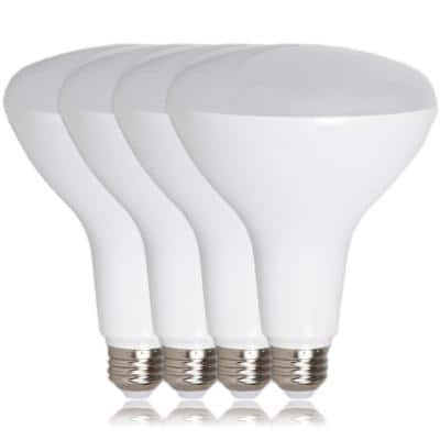 75-Watt Equivalent BR40 Energy Star and Dimmable LED Light Bulb in Warm White (2700K) (4-Pack)