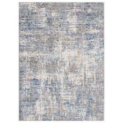 Austin Elegance Blue 12 ft. 6 in. x 15 ft. Oversize Area Rug