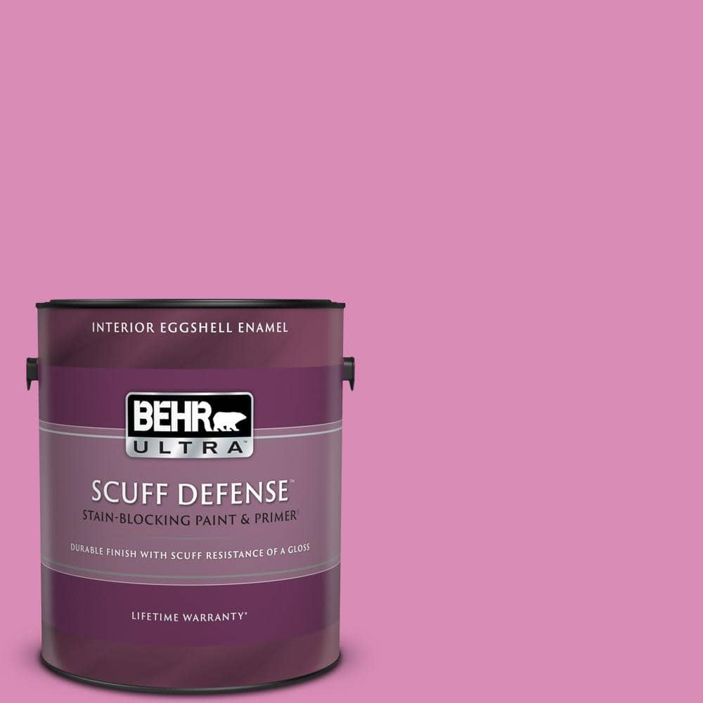 Behr Ultra 1 Gal P120 3 High Maintenance Extra Durable Eggshell Enamel Interior Paint Primer 275401 The Home Depot