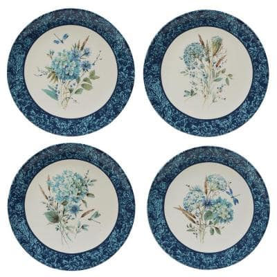 Bohemian Blue Multicolored Dinner Plate (Set of 4)