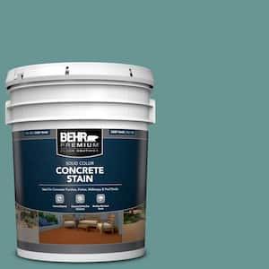 5 gal. #PFC-48 Aqua Marble Solid Color Flat Interior/Exterior Concrete Stain