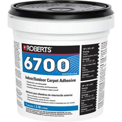 1 Gal. Indoor/Outdoor Carpet and Artificial Turf Adhesive