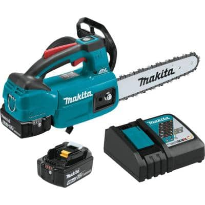 10 in. 5.0 Ah 18-Volt LXT Lithium-Ion Brushless Cordless Chain Saw Kit