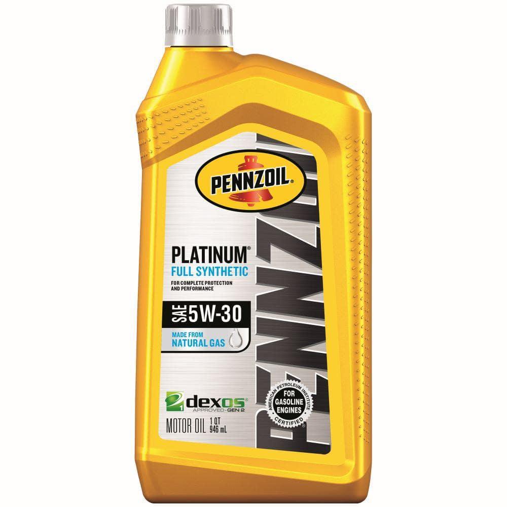 Pennzoil 1 Qt. SAE 5W-30 Platinum Full Synthetic Motor Oil