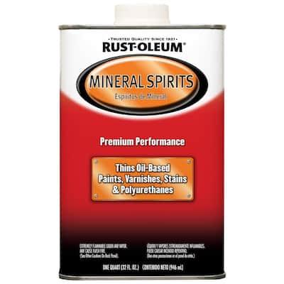1-qt. Low VOC Mineral Spirits Solvent (4-Pack)