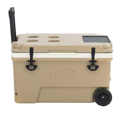 IceCove 60-Quart Solar Cooler - Mojave Desert Tan