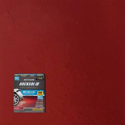 70 oz. Metallic Cherry Bomb Garage Floor Kit (2-Pack)