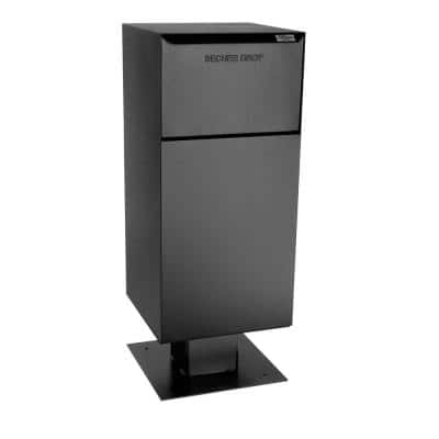 Deposit Vault with Pedestal in Black