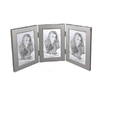 """4 in. x 6 in. """"Jolene"""" Triple Picture Frame"""