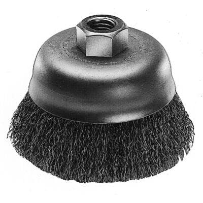 6 in. Crimped Wire Cup Brush