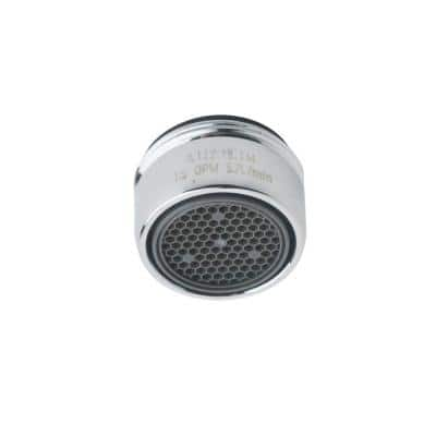 Symmetrix Bathroom Faucet 1.5 GPM Male Aerator in Polished Chrome