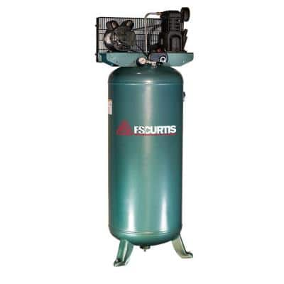 60 Gal. 3 HP Electric 230-Volt 1-Phase Air Compressor
