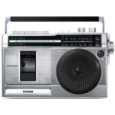 Retro Rocker Portable Boombox with Bluetooth