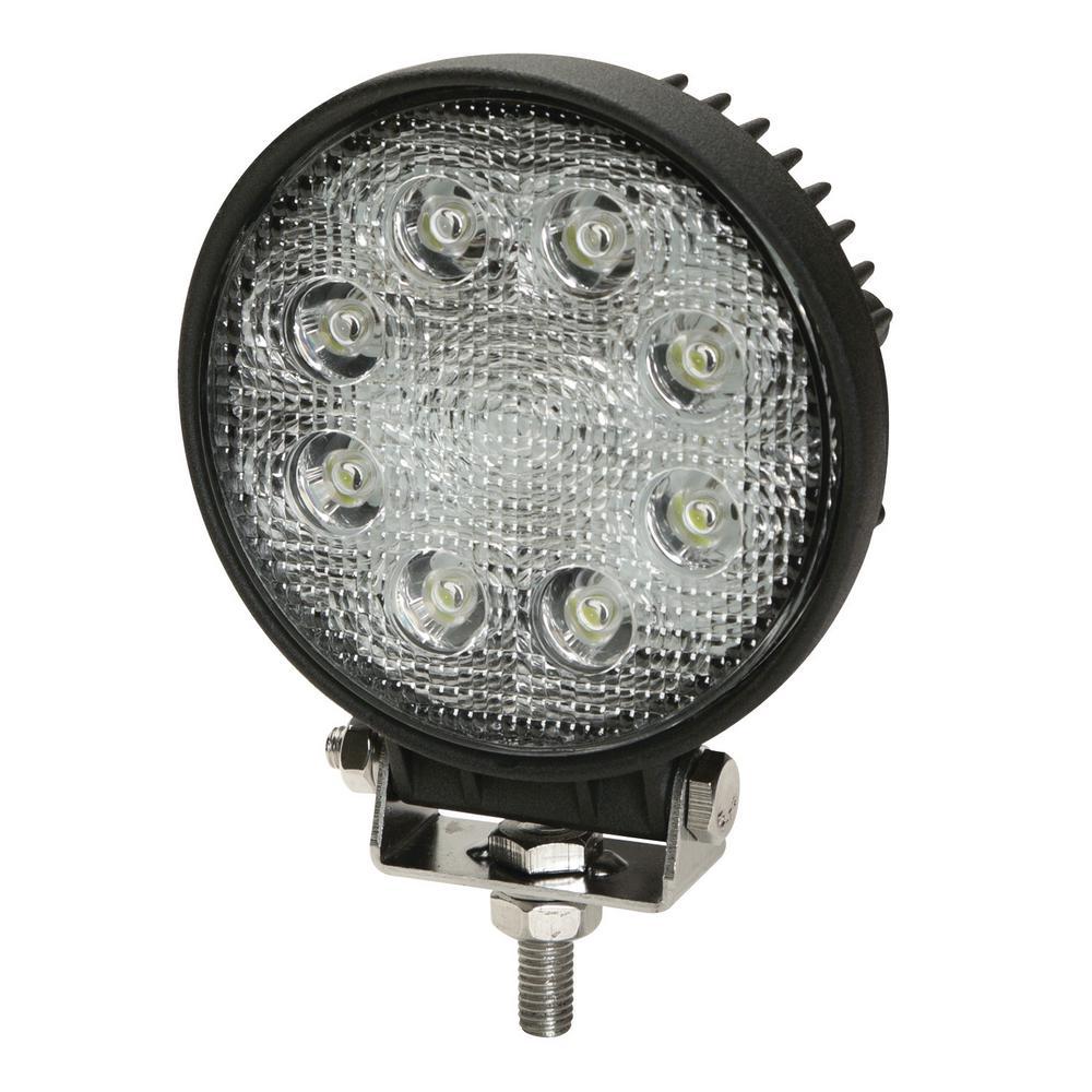 4 in. 9 LED Round Flood Worklight