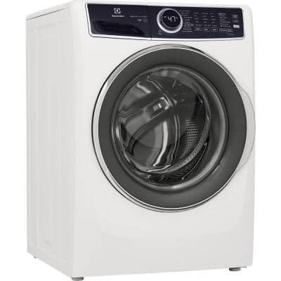 4.5 cu. ft. High-Efficiency Stackable Front Load Washer with LuxCare Wash and Perfect Steam in White, ENERGY STAR