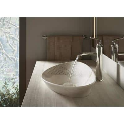 Purist Single Hole Single-Handle Vessel Bathroom Faucet in Vibrant Polished Nickel