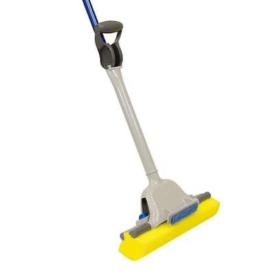 Jumbo Mop and Scrub Roller Sponge Mop with Microban