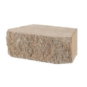 4 in. x 11.75 in. x 6.75 in. Buff Concrete Retaining Wall Block