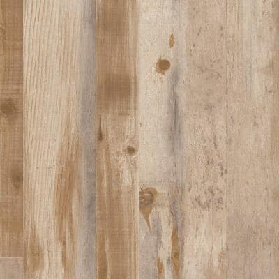 Restored Rosewood Wood Residential/Light Commercial Vinyl Sheet Flooring 12ft. Wide x Cut to Length