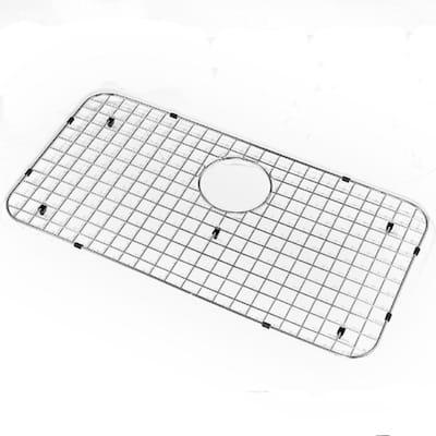 Wirecrafft Series 26.7 in. x 13.5 in. Bottom Grid, Stainless Steel