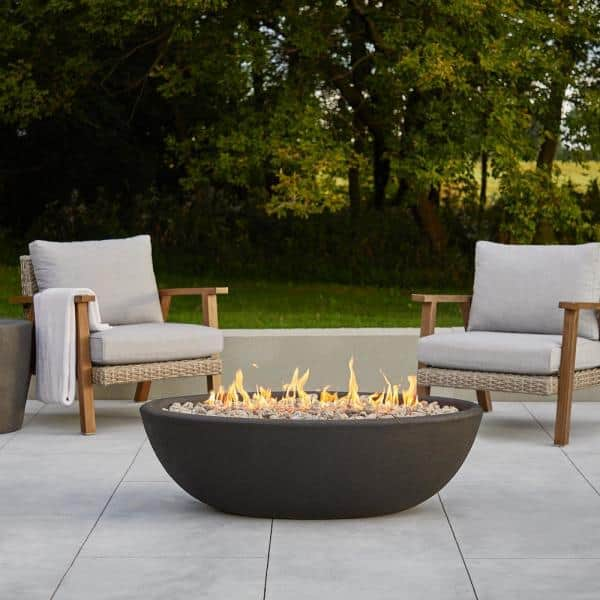 Real Flame Riverside 48 In X 15, Propane Patio Fire Pits