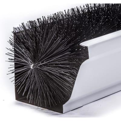 Oversize 6 in. - 12 ft. Pack Max-Flow Filter Brush Gutter Guard