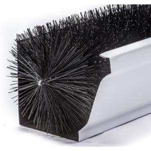 Gutterbrush Oversize 6 In 12 Ft Pack Max Flow Filter Brush Gutter Guard 6in 12ft The Home Depot