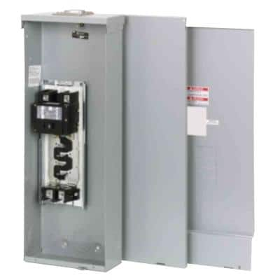 BR 200 Amp 4-Space 8-Circuit Outdoor Main Breaker Loadcenter with Cover