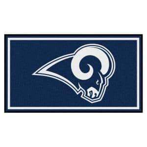 NFL - Los Angeles Rams 3 ft. x 5 ft. Ultra Plush Area Rug