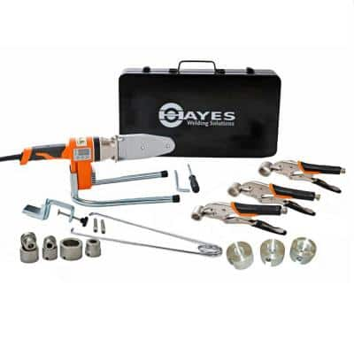 Hayes Digital Socket Fusion Pipe Welder Tool Complete Kit PRO (up to 1 in.)