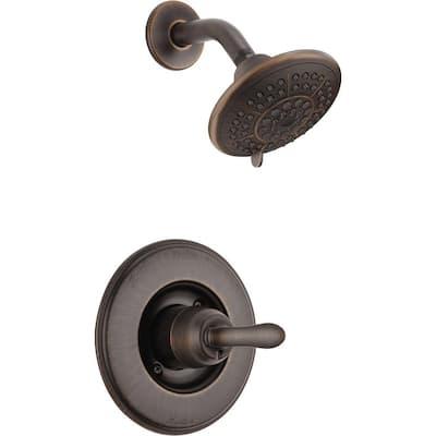 Linden 1-Handle 1-Spray Shower Only Faucet Trim Kit in Venetian Bronze (Valve Not Included)