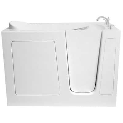 5 ft. Walk-In Right Hand Bathtub in White