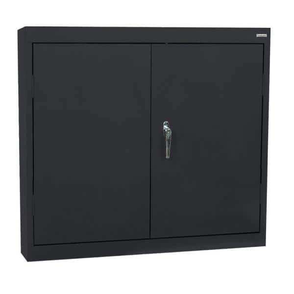 Shelf Wall Mounted Garage Cabinet, Wall Mounted Storage Cabinets Home Depot