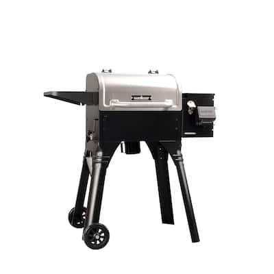 Woodwind WIFI 20 Pellet Grill in Stainless Steel