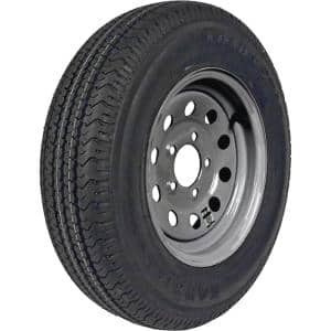ST205/75R-14 KR03 Radial 1760 lb. Load Capacity Galvanized 14 in. Bias Tire and Wheel Assembly