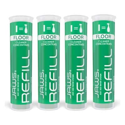 Hardwood Floor Cleaner concentrated Refill Pods (4-Pack)