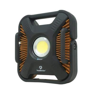 6,000 Lumens LED Rechargeable Work Light