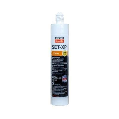 SET-XP 8.5 oz. High-Strength Epoxy Adhesive Cartridge with 1 Nozzle and Extension