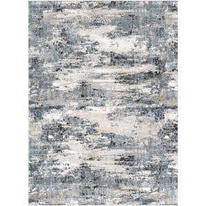 Kortright Gray 7 ft. x 9 ft. Indoor Area Rug