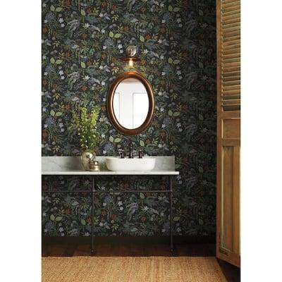 60.75 sq. ft. Juniper Forest Wallpaper