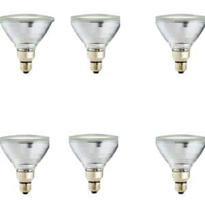 90-Watt Equivalent PAR38 Halogen Indoor/Outdoor Dimmable Flood Light Bulb (6-Pack)