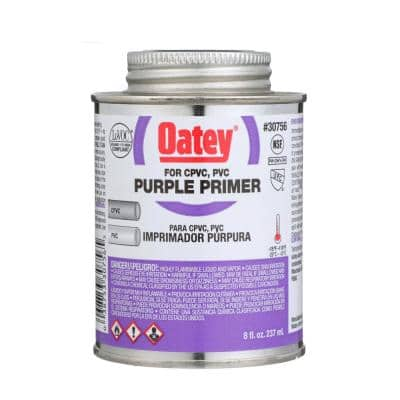 8 oz. Purple CPVC and PVC Primer