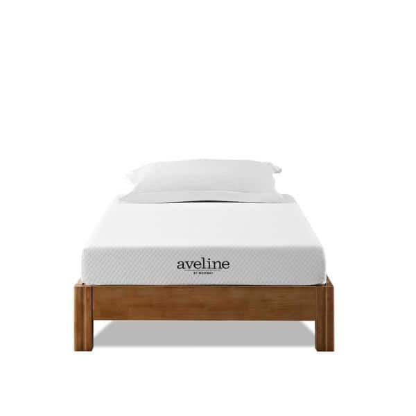 MODWAY - Aveline 6in. Plush Memory Foam Tight Top Twin Mattress