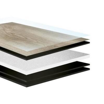 9 in. x 72 in. Mineral Gray Rigid Core Empower Waterproof Click Lock Vinyl Plank Flooring (18.19 sq. ft.)