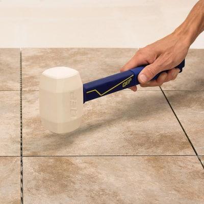 16 oz. Pro Rubber Floor Mallet with 11.5 in. Plastic Handle