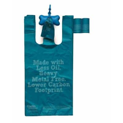 Eco-Friendly Pet Waste Bags from Renewable Thermoplastic Starch (2-Pack)
