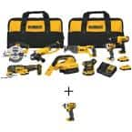 20-Volt MAX Cordless Combo Kit (8-Tool) with (2) 20-Volt 2.0Ah Batteries & 3/8 in. Impact Wrench