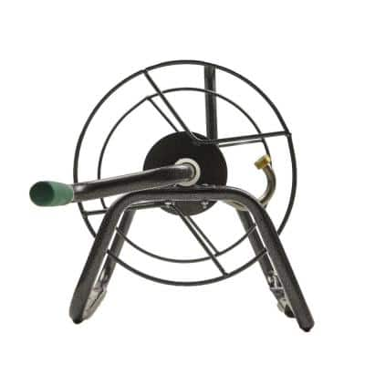 Yard Butler Handy Reel Heavy-Duty Ground and Wall Mount Water for Garden Hose